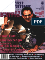 Modern Drummer #104 Jul. 1988
