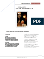 cuadernillo diocesano HORA SANTA vocacional