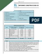 Informe Semanal Ejecutivo, Cesfam Mas Sar N° 038, Rev 0