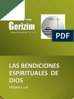 1_las Bendiciones Espirituales de Dios