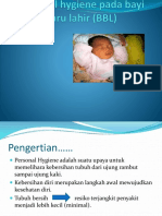 Personal hygiene pada bayi baru lahir (BBL