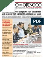 Edición Impresa Correo del Orinoco N° 3.661 Sábado 4 de Enero de 2020