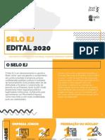 SeloEJ - Edital 2020