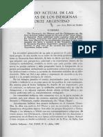El estado actual de las artesanías de los indígenas del norte argentino / Baró de Stern, Ana