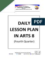 Grade 8 - Arts (Fourth Quarter)