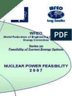 Nuclear Power Feasibility 2007