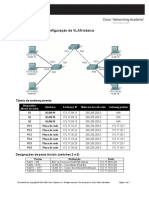 Configurações de VLAN básica