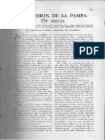 Una visión de la pampa en 1819-24 / Correa Morales de Aparicio, Cristina