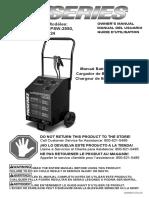 manual de cargador de baterias.