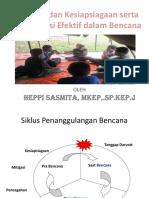 Kesiapsiagaan dan Mitigasi serta Komunikasi Efektif dalam Bencana