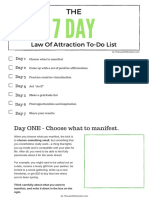 Manifestation 7 Day Experiment PDF
