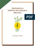Positive Psychology Diploma