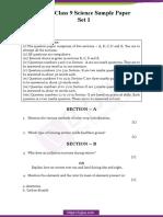 CBSE-Sample-Paper-Class-9-Science-Set-1