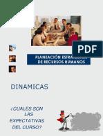 PLANEACIÓN ESTRATEGICA DE RECURSOS HUMANOS PRIMERA PARTE