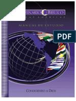 doctrina-de Dios - Seminario Biblico de las Américas