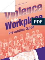 Violence Sample Guide
