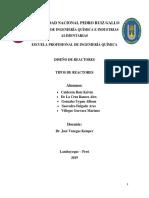 TRABAJO DE DISEÑO DE REACTORES-UNIDAD 1