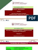 USMP FCARH-DA S11 Project Management