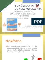 Pronósticos en Prostodoncia Parcial Fija