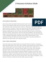 Biografi Singkat Penyusun Kutubus Sittah