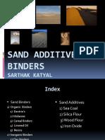 Sand Additives & Binders