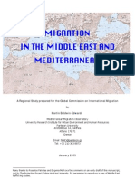 Migration in the Middle East and Mediterranean