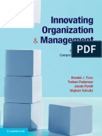 Innovating Organization and Management New Sources of Competitive Advantage
