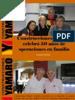 Armando Iachini - Construcciones Yamaro Celebró 50 Años de Operaciones en Familia