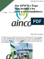 Edgar Raúl Leoni Moreno - Fundación AINCO y Expo Caricuao Invitan a Los Emprendedores a SerTriunfadores