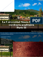 Edgar Raúl Leoni Moreno - La Universidad Simón Bolívar Es Excelencia Académica, Parte II