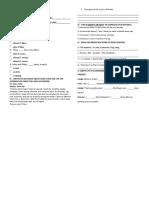 ENGLISH PRACTICE - SIMPLE PRESENT II