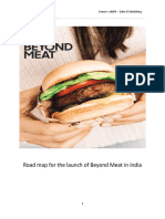 Beyond Meat in India - Assignment 2