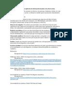 Principales técnicas de recopilación de información basadas en la observación
