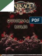 Quick Start Rules 2010 Dark Age