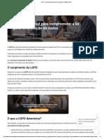 LGPD_ O manual para compreender a lei geral de proteção de dados