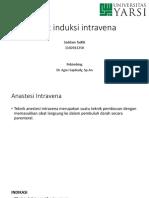 ppt Obat induksi intravena