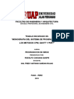 SISTEMA DE PROGRAMACION DE LOS METODOS CPM, GANTT Y PERT.doc