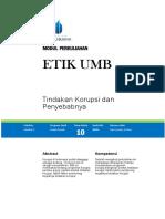 10. Tindakan Korupsi dan Penyebabnya.pdf