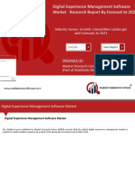 Digital Experience Management Software Market Ppt