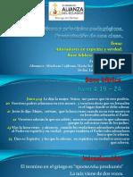 Exposición para Educación cristiana y principios pedagógicos pdf