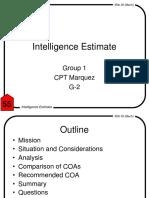Intel Estimate