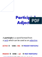 5. Particifial Adjective