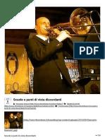 Scuole e punti di vista discordanti - Trombone Italia Magazine - Brass Blog