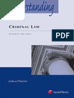 Joshua Dressler - Understanding Criminal Law, 7th Edition (2015)