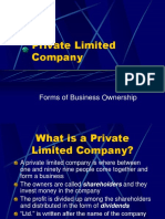 Private Limited Company.ppt