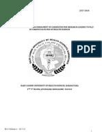 Revised Ordinance  for Ph.D 2017-18