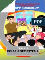 RPP Tema 6 1 lembar.doc