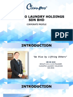 Corporate Profile - Sales
