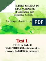 DISS First Summative Test 1 new
