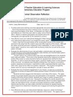 345766139-completed-formal-observation-reflection - Copy (2).doc